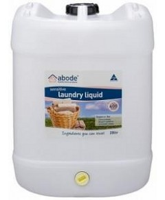 Abode Laundry Liquid ZERO Fragrance Free 20L