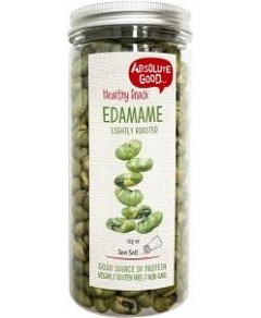 Absolute Good Edamame Roasted Sea Salt 150g