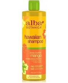 Alba Hawaiian Hair Shampoo Body Builder Mango 355mL