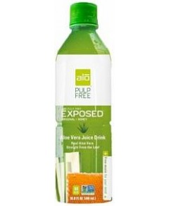 Alo Exposed Aloe Vera + Honey 500ml x 12