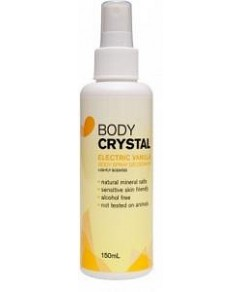 Body Crystal Mist Electric Vanilla 150ml
