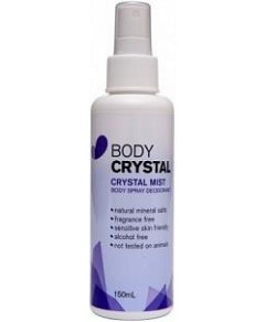 Body Crystal Mist  Fragrance Free 150ml