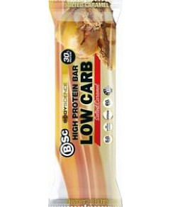 BSc High Protein Low Carb Bar Salted Caramel 12x60g
