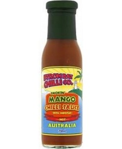 Byron Bay Chilli Smokin Mango Chilli Sauce 250ml