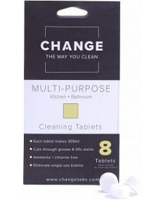 Change Multi-Purpose Cleaning Tablets (8 Tablets Pouch)