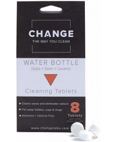 Change Water Bottle Cleaning Tablets (8 Tablets Pouch)