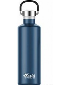 Cheeki Classic Stainless Steel Insulated Ocean Bottle 600ml