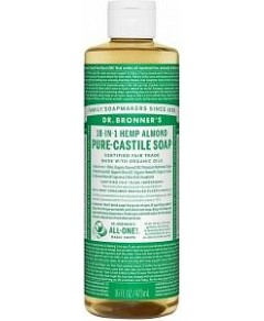 Dr Bronner's Pure Castile Liquid Soap Almond 473ml