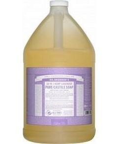 Dr Bronner's Pure Castile Liquid Soap Lavender 3.78L