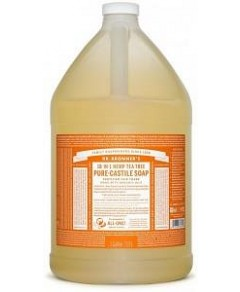 Dr Bronner's Pure Castile Liquid Soap Tea Tree 3.78L