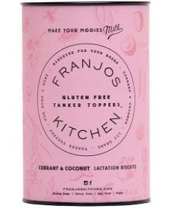 Franjo's Kitchen G/F Currant & Coconut Tanker Topper Lactation Biscuits 252g