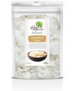 Global Organics Organic Coconut Chips G/F 200g