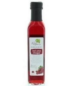 Global Organics Red Wine Vinegar G/F 250ml