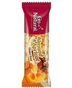 Go Natural Almond And Apricot Bar 16x40g