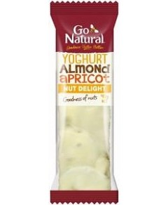 Go Natural Yoghurt Almond and Apricot Bars16x40g