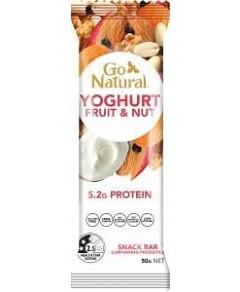 Go Natural Yoghurt Fruit & Nut Delight Bars 16x50g