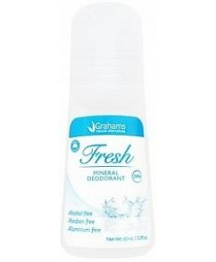 Grahams Fresh Mineral Deodorant Roll On 65ml