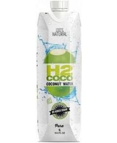 H2Coco Pure Coconut Water 6x1L