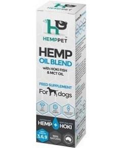 Hemp Pet Hemp Oil Blend with Hoki Fish & MCT Oil Feed Supplement for Dogs 100ml