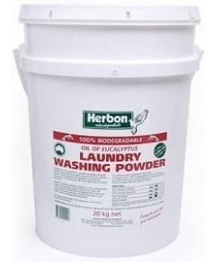 Herbon Fragrance Free Laundry Wash Pwd Bucket 20kg