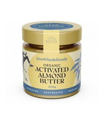 Live Wholefoods Organic Activated Almond Butter G/F 200g