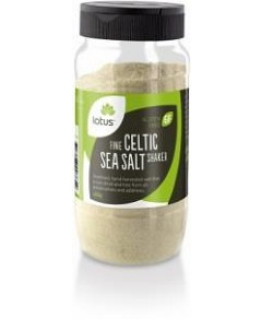 Lotus Celtic Sea Salt Fine Shaker 450g