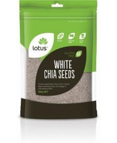 Lotus Chia Seeds White G/F 500g