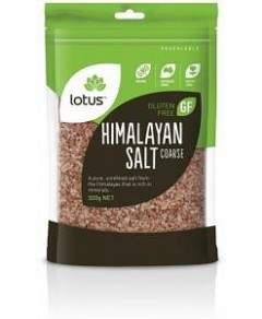 Lotus Himalayan Pink Coarse Salt (Bag) G/F 500g