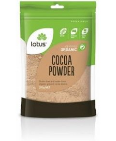 Lotus Organic Cocoa Powder 200gm