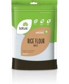 Lotus Organic Flour White Rice 500g