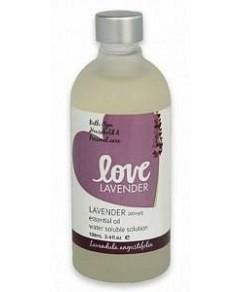 Love Oils Lavender Water Soluble Lavender Oil 100ml