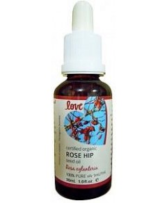 Love Oils Organic Rose Hip Seed Oil 30ml