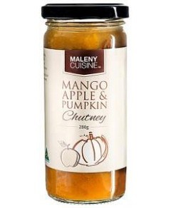Maleny Cuisine Mango Apple & Pumpkin Chutney 280gm