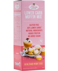 Melindas Lower Carb Muffin Mix G/F 240g