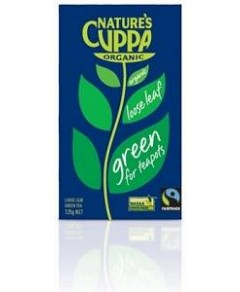 Natures Cuppa Org Green Loose Leaf Tea 125g