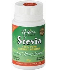 Nirvana Organics Stevia Pure Extract Powder 30g