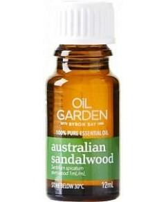 Oil Garden Sandalwood (Aust) Pure Essential Oil 12ml