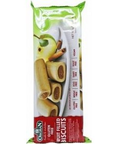 Orgran Apple & Cinnamon Fruit Filled Biscuits 175g