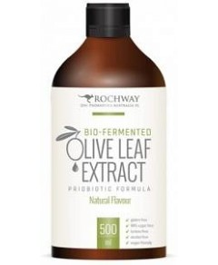 Rochway Bio-Fermented Olive Leaf Extract Probiotic Formula Natural G/F 500ml