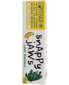 Snappy Jaws Kids Toothpaste 75g Cool Banana