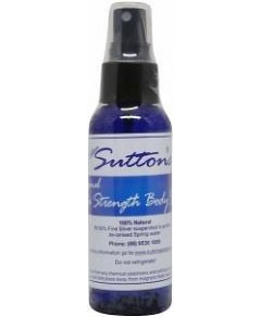 Suttons Colloidal Silver Body Spray 100ml