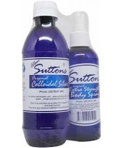 Suttons Travel Pack (375 Coll Silv+175 Body Spray)