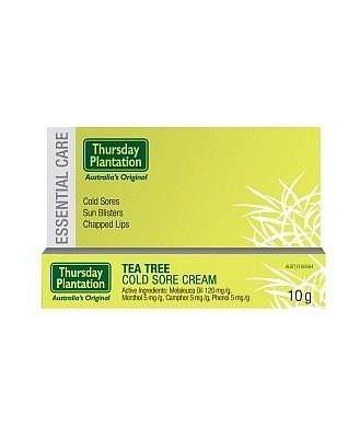 TP Tea Tree Cold Sore Cream 10gm