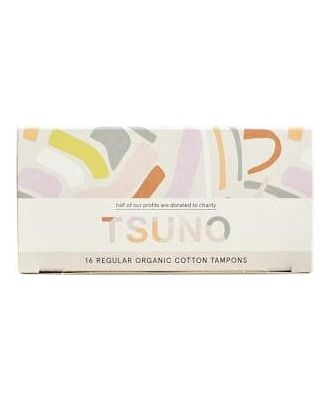 Tsuno Organic Cotton Tampons 16 Regular