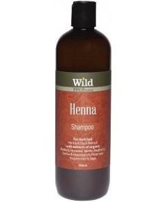 Wild Henna Hair Shampoo 500ml