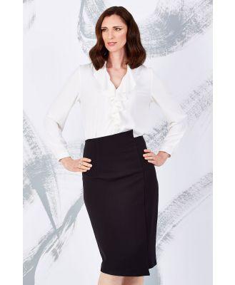 The Asymmetrical Pencil Skirt