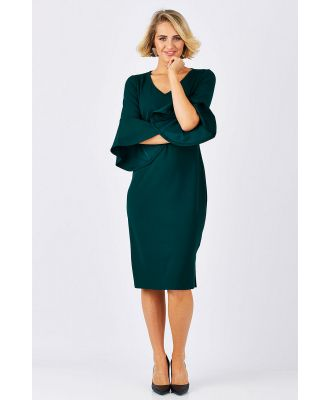 The Bell Sleeve Pencil Dress