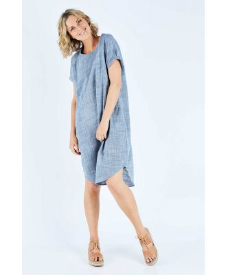 The Cotton Linen Shift Dress