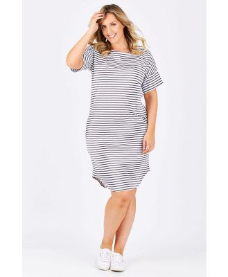 The Cotton Stripe Dress