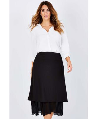 The Layered Maxi Skirt